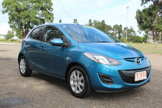 Used Mazda 2  , 2014 Mazda 2 Neo - Sport Blue Automatic Hatchback