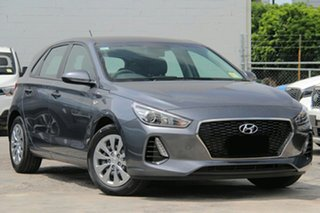 2018 Hyundai i30 PD MY19 Go Iron Gray 6 Speed Sports Automatic Hatchback.