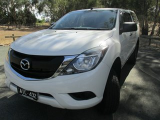 2016 Mazda BT-50 UR0YF1 XT White 6 Speed Sports Automatic Utility.