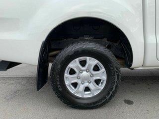 2012 Ford Ranger PX XL White 6 Speed Manual Dual Cab