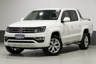 2017 Volkswagen Amarok 2H MY18 V6 TDI 550 Ultimate White 8 Speed Automatic Dual Cab Utility.