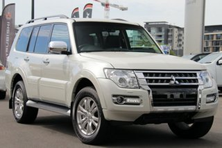 2018 Mitsubishi Pajero NX MY18 Exceed Warm White 5 Speed Sports Automatic Wagon.