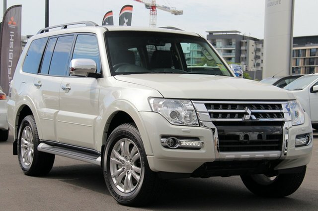 New Mitsubishi Pajero NX MY18 Exceed, 2018 Mitsubishi Pajero NX MY18 Exceed Warm White 5 Speed Sports Automatic Wagon