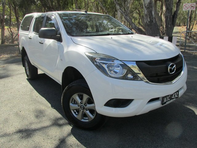 Used Mazda BT-50 UR0YF1 XT, 2016 Mazda BT-50 UR0YF1 XT White 6 Speed Sports Automatic Utility