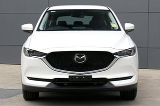 2020 Mazda CX-5 KF4WLA Touring SKYACTIV-Drive i-ACTIV AWD White 6 Speed Sports Automatic Wagon
