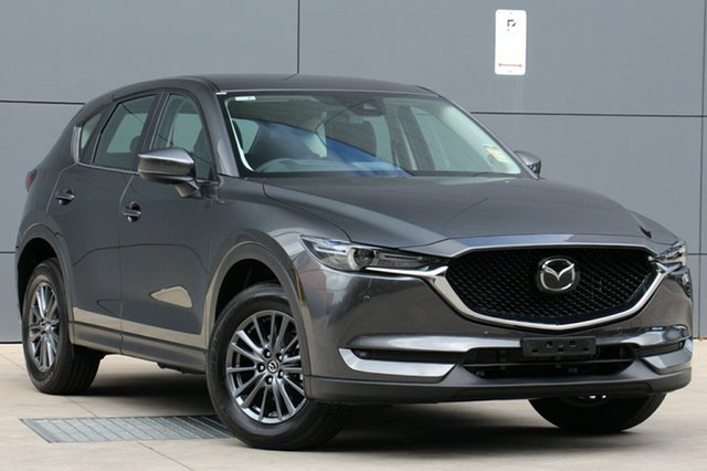 New Mazda CX-5 KF4WLA Touring SKYACTIV-Drive i-ACTIV AWD, 2019 Mazda CX-5 KF4WLA Touring SKYACTIV-Drive i-ACTIV AWD Titanium Flash 6 Speed Sports Automatic