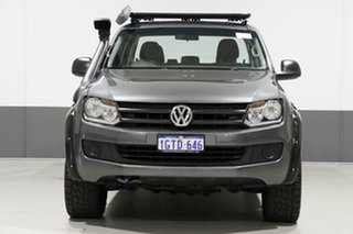 2016 Volkswagen Amarok 2H MY16 TDI400 Core Plus (4x4) Grey 6 Speed Manual Dual Cab Utility.