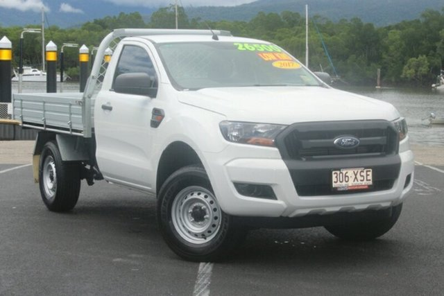 Used Ford Ranger PX MkII 2018.00MY XL 4x2 Hi-Rider, 2017 Ford Ranger PX MkII 2018.00MY XL 4x2 Hi-Rider White 6 Speed Manual Cab Chassis