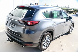 2018 Mazda CX-8 KG4W2A Asaki SKYACTIV-Drive i-ACTIV AWD Machine Grey 6 Speed Sports Automatic Wagon