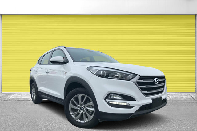 Used Hyundai Tucson TL2 MY18 Active 2WD, 2017 Hyundai Tucson TL2 MY18 Active 2WD White 6 Speed Sports Automatic Wagon
