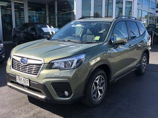 2018 Subaru Forester S5 MY19 2.5i-L CVT AWD Jasmine Green 7 Speed Constant Variable Wagon.
