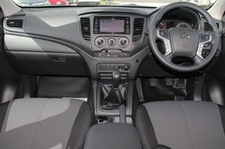 2018 Mitsubishi Triton MR MY19 GLX ADAS White 6 Speed Manual