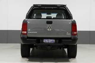 2016 Volkswagen Amarok 2H MY16 TDI400 Core Plus (4x4) Grey 6 Speed Manual Dual Cab Utility