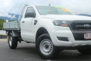 2017 Ford Ranger PX MkII 2018.00MY XL 4x2 Hi-Rider White 6 Speed Manual Cab Chassis.