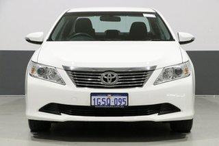 2014 Toyota Aurion GSV50R AT-X White 6 Speed Automatic Sedan.