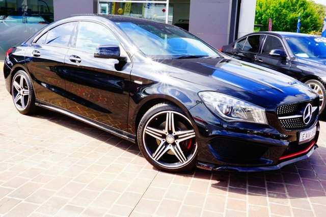 Used Mercedes-Benz CLA250 C117 805+055MY Sport DCT 4MATIC, 2015 Mercedes-Benz CLA250 C117 805+055MY Sport DCT 4MATIC Black 7 Speed Sports Automatic Dual Clutch