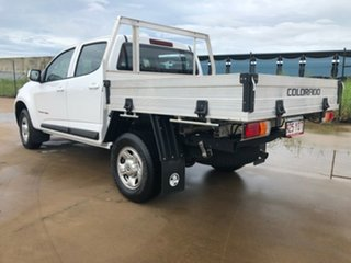 2018 Holden Colorado RG MY19 LS Crew Cab White 6 Speed Sports Automatic Cab Chassis