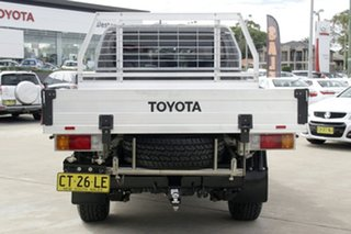 2017 Toyota Landcruiser VDJ79R GXL Double Cab Grey 5 Speed Manual Cab Chassis