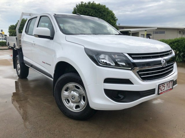 Used Holden Colorado RG MY19 LS Crew Cab, 2018 Holden Colorado RG MY19 LS Crew Cab White 6 Speed Sports Automatic Cab Chassis