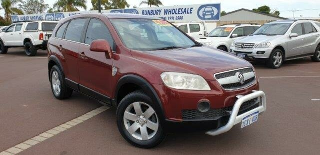 Used Holden Captiva CG CX AWD, 2007 Holden Captiva CG CX AWD 5 Speed Sports Automatic Wagon