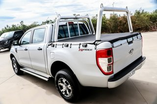 2014 Ford Ranger PX XL Double Cab 4x2 Hi-Rider Silver 6 Speed Manual Utility.