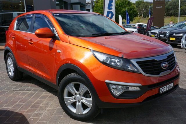 Used Kia Sportage SL MY13 SI, 2013 Kia Sportage SL MY13 SI Orange 6 Speed Sports Automatic Wagon