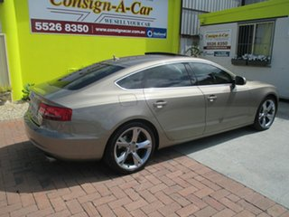 2010 Audi A5 8T MY11 Sportback S Tronic Quattro Gold 7 Speed Sports Automatic Dual Clutch Hatchback