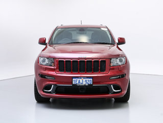 2012 Jeep Grand Cherokee WK MY12 SRT 8 (4x4) Red 5 Speed Automatic Wagon.