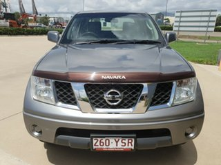 2011 Nissan Navara D40 S6 MY12 ST Grey 5 Speed Sports Automatic Utility