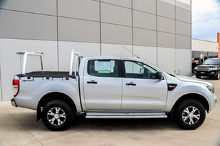 2014 Ford Ranger PX XL Double Cab 4x2 Hi-Rider Silver 6 Speed Manual Utility