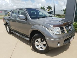 2011 Nissan Navara D40 S6 MY12 ST Grey 5 Speed Sports Automatic Utility.
