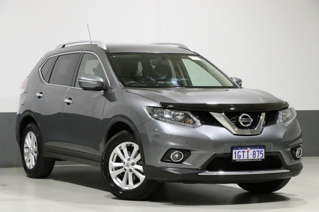 Used Nissan X-Trail T32 ST-L (4x4), 2017 Nissan X-Trail T32 ST-L (4x4) Grey Continuous Variable Wagon