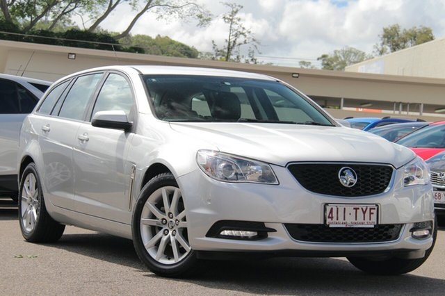 Used Holden Commodore VF MY14 International Sportwagon, 2013 Holden Commodore VF MY14 International Sportwagon Silver 6 Speed Sports Automatic Wagon