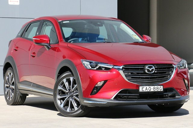 Demo Mazda CX-3 DK2W7A sTouring SKYACTIV-Drive FWD, 2019 Mazda CX-3 DK2W7A sTouring SKYACTIV-Drive FWD Soul Red Crystal 6 Speed Sports Automatic Wagon