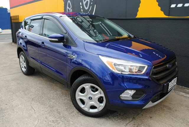 Used Ford Escape ZG Ambiente 2WD, 2017 Ford Escape ZG Ambiente 2WD Deep Impact Blue 6 Speed Sports Automatic Wagon