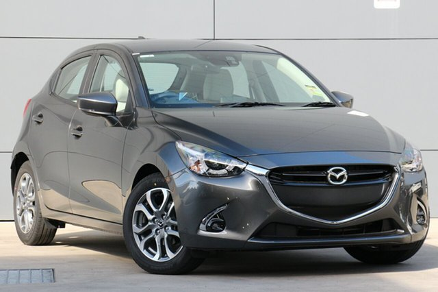 New Mazda 2 DJ2HAA GT SKYACTIV-Drive, 2019 Mazda 2 DJ2HAA GT SKYACTIV-Drive Machine Grey 6 Speed Sports Automatic Hatchback