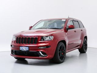 2012 Jeep Grand Cherokee WK MY12 SRT 8 (4x4) Red 5 Speed Automatic Wagon