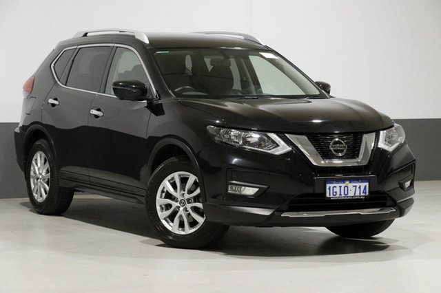 Used Nissan X-Trail T32 Series 2 ST-L (4WD), 2017 Nissan X-Trail T32 Series 2 ST-L (4WD) Black Continuous Variable Wagon