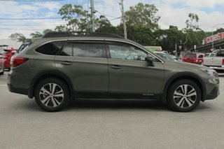 2018 Subaru Outback B6A MY18 2.5i CVT AWD Premium Wilderness Green 7 Speed Constant Variable Wagon.
