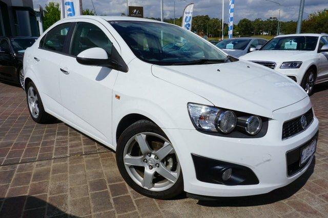 Used Holden Barina TM MY13 CDX, 2012 Holden Barina TM MY13 CDX White 6 Speed Automatic Sedan