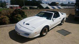 1991 Pontiac Trans Am GTA White 4 Speed Automatic Coupe.