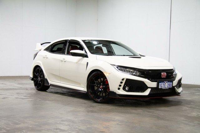 Used Honda Civic 10th Gen MY18 Type R, 2018 Honda Civic 10th Gen MY18 Type R White 6 Speed Manual Hatchback