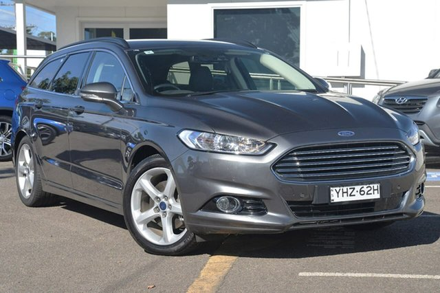 Used Ford Mondeo MD 2017.50MY Trend PwrShift, 2017 Ford Mondeo MD 2017.50MY Trend PwrShift Grey 6 Speed Sports Automatic Dual Clutch Wagon