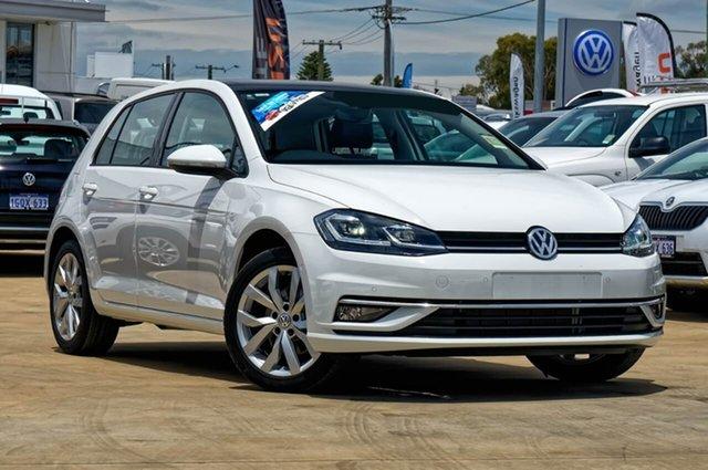 Demo Volkswagen Golf 7.5 MY18 110TDI DSG Highline, 2018 Volkswagen Golf 7.5 MY18 110TDI DSG Highline Pure White 7 Speed Sports Automatic Dual Clutch