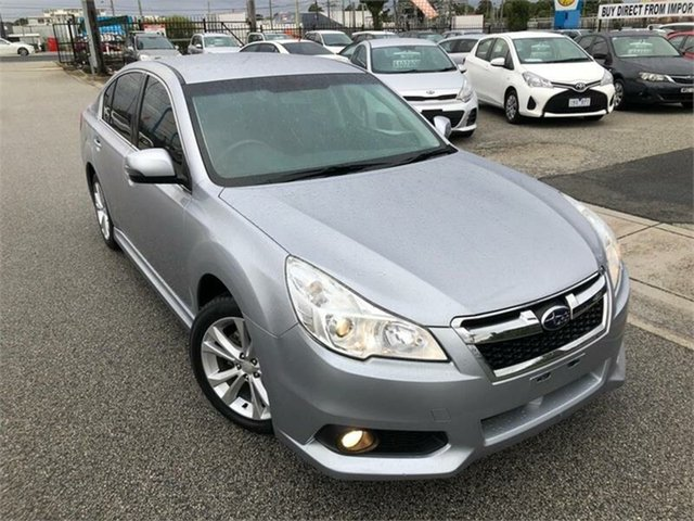 Used Subaru Liberty B5 2.5I, 2014 Subaru Liberty B5 2.5I Silver Constant Variable Sedan