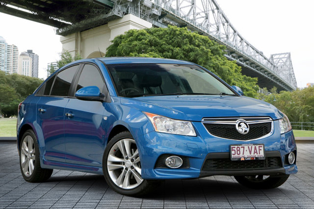 Used Holden Cruze JH Series II MY14 SRi-V, 2014 Holden Cruze JH Series II MY14 SRi-V Blue 6 Speed Sports Automatic Sedan