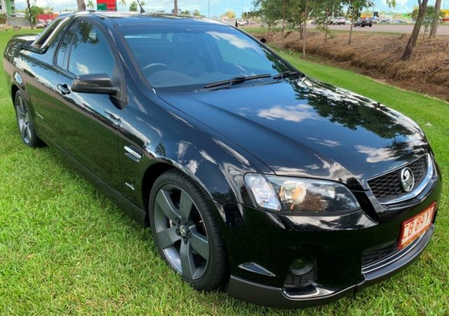 Used Holden Ute VE II SS Thunder, 2012 Holden Ute VE II SS Thunder Black 6 Speed Manual Utility