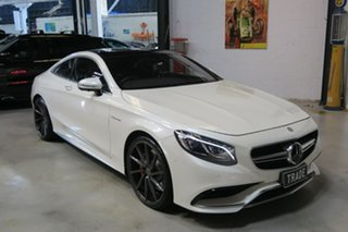 2015 Mercedes-Benz S63 C217 AMG SPEEDSHIFT MCT White 7 Speed Sports Automatic Coupe