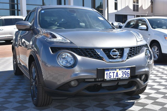 Demo Nissan Juke F15 MY18 Ti-S X-tronic AWD, 2018 Nissan Juke F15 MY18 Ti-S X-tronic AWD Gun Metallic 1 Speed Constant Variable Hatchback