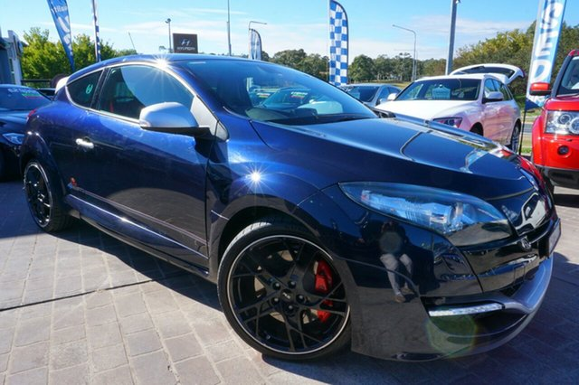Used Renault Megane III D95 R.S. 265 Red Bull RB8, 2013 Renault Megane III D95 R.S. 265 Red Bull RB8 Blue 6 Speed Manual Coupe